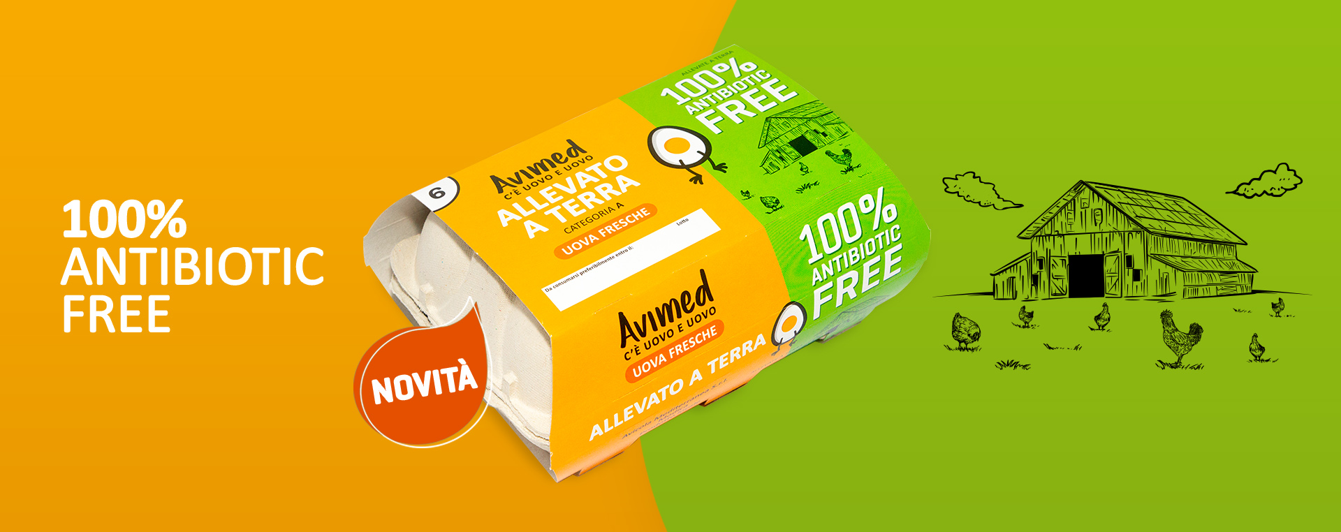 Avimed uova antibiotic free